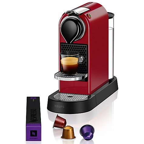 Nespresso Krups CitiZ XN740540 Cherry Red