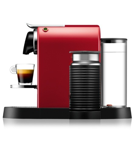 Nespresso KRUPS XN 7605 CitiZ & Milk (Cherry Red)